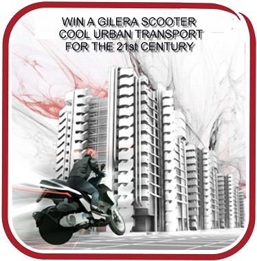 Gilera Scooter - Win a Gilera Runner SP 50